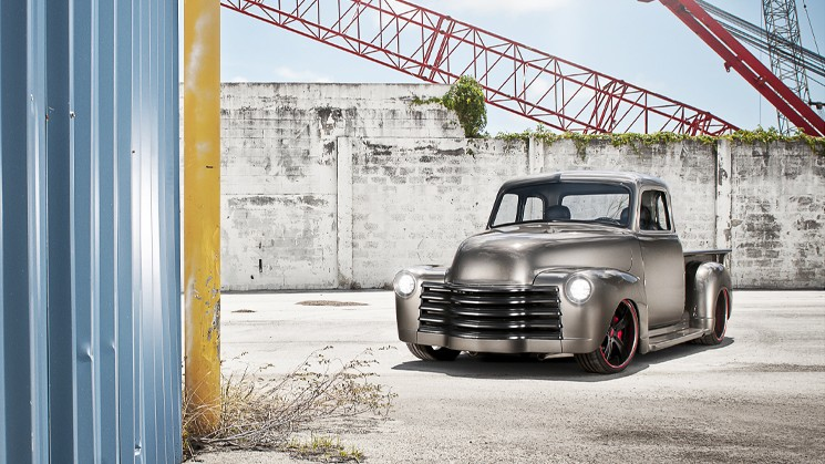 Rides, Chevrolet, Chevy, 3100, Custom, 1950, MC Customs