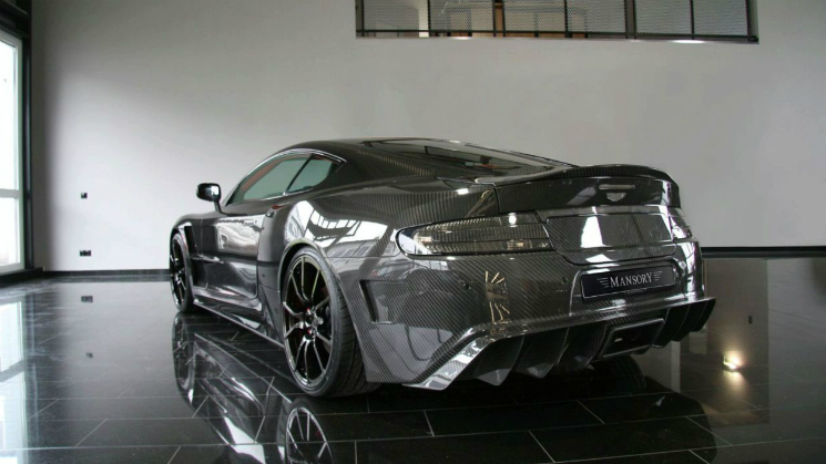 Aston Martin DBS with the limited edition Mansory CYRUS Package db9 bodykit programme carbon fiber
