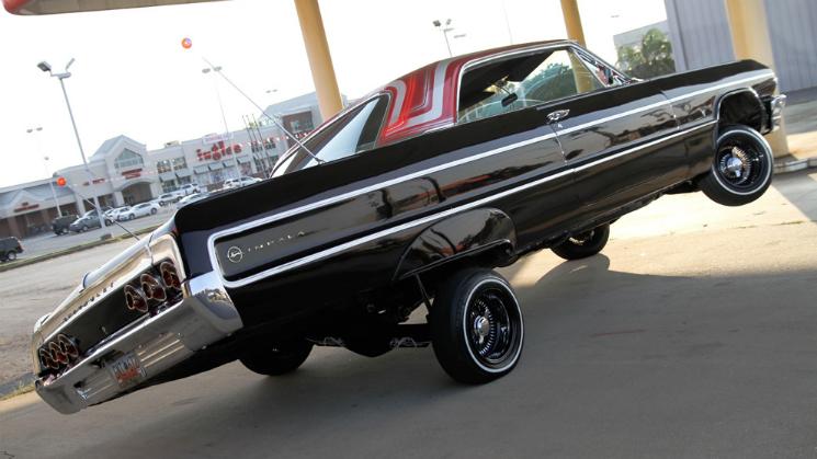 rides black 1964 chevrolet impala southern charm cali swag hydraulics carey birch