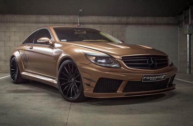 Mercedes-Benz, Mercedes, Benz, Rides, Custom, Forgiato, CL65