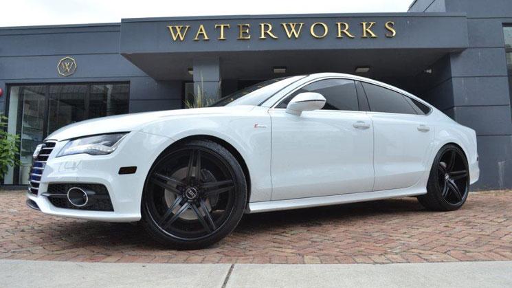 audi a4 white black rims    audi    a7 on new vellano wheels rides magazine     audi    a7 on new vellano wheels rides magazine
