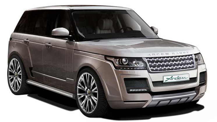 range rover ar9 arden wide body kit land suv