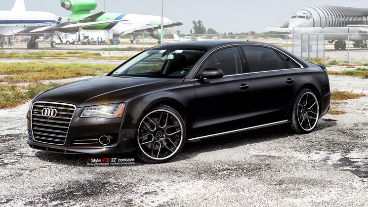 Audi A8 L With Vellano Vck Wheels Rides Magazine