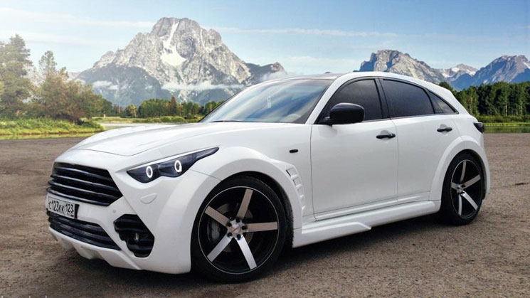 Update Secret Infiniti Fx On Vossen Vvscv3 Rims Rides
