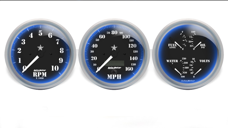 auto meter custom gauges rides designs