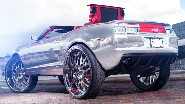 Chevrolet, Chevy, Camaro, SS, 2011, Chrome, Forgiato, 813 Customs, Chrome, RIDES