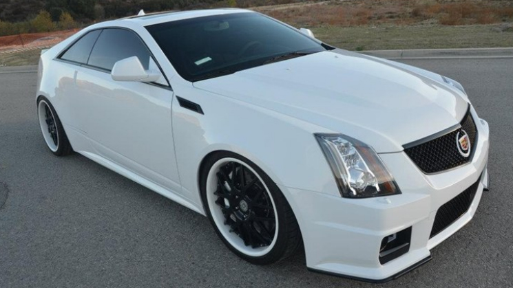 2011 Cadillac Cts V Coupe On Hre Wheels Rides Magazine
