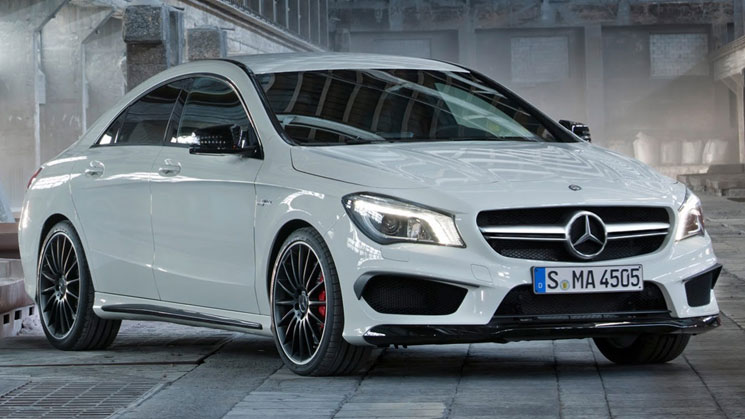 2014 mercedes-benz cla45 amg rides new york nyias