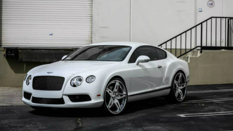 2013 Bentley Continental Gt On Forgiato Wheels Rides