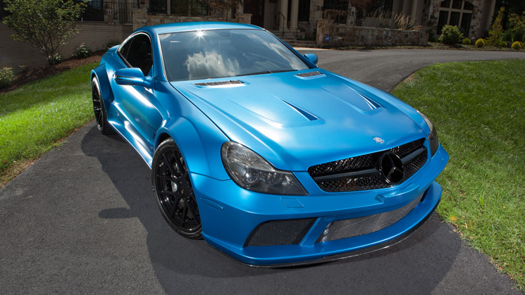 Mercedes, Mercedes-Benz, Benz, SL 65, AMG, Black Series, Rides, Custom, Ovechkin