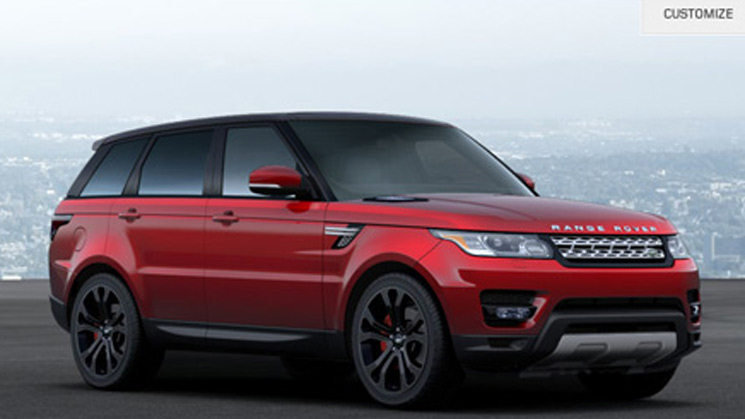 2014 land rover range sport new york customizer configurator