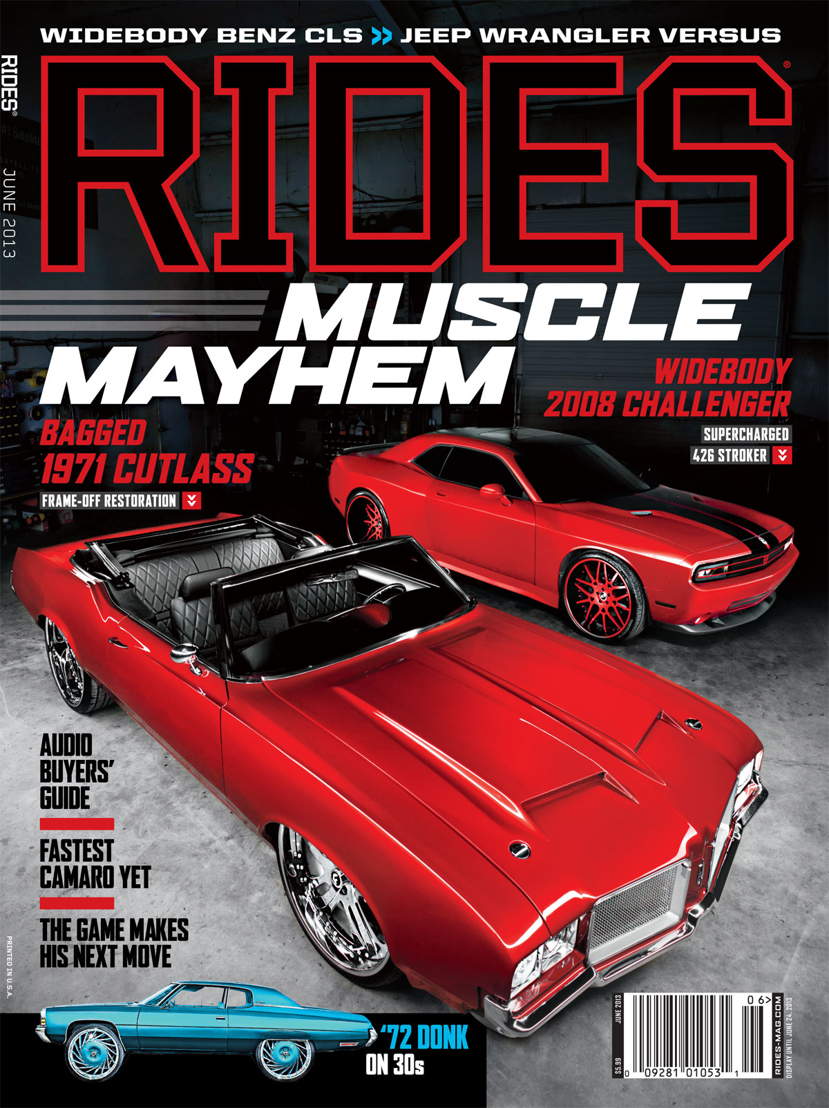 rides magazine june 2013 cover cutlass challenger