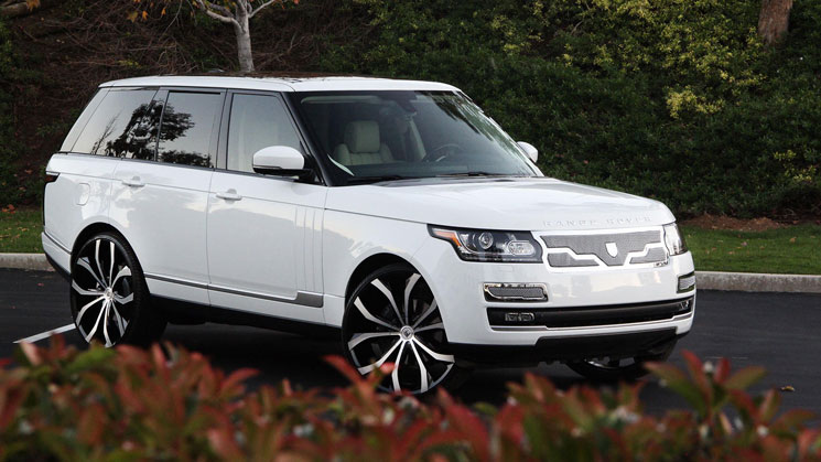 2013 Range Rover Hse On Lexani Wheels Rides Magazine