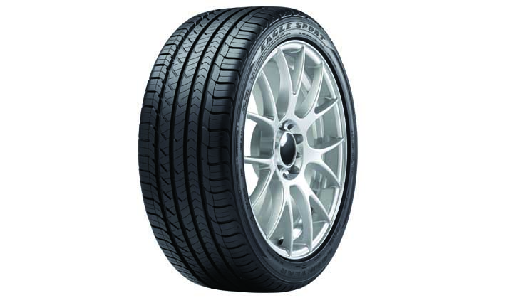Goodyear Eagle All-Season 3 4 view feature