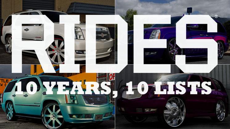rides top 10 best cadillac escalade ext truck custom