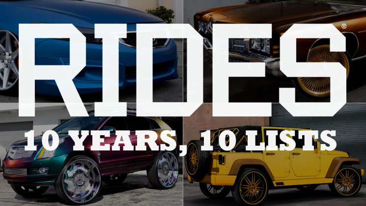 rides ten 10 trends we didn't see coming