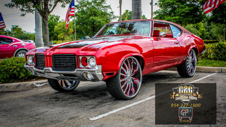 Oldsmobile Cutlass Bentchis C2C Customs Rides