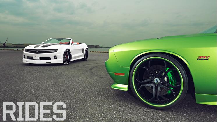 Chevrolet, Camaro, Dodge, Challenger, 392, Chevelle, Japan, RIDES