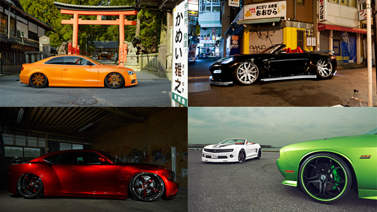 Japan, RIDES, Chevrolet, Forgiato, Diablo, Audi, Dodge, Nissan