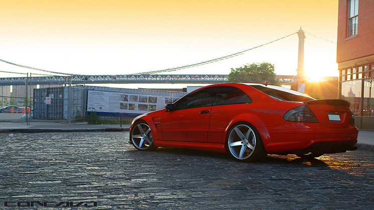 Mercedes Benz CLK63 AMG Black Series on CW-5 4 featured