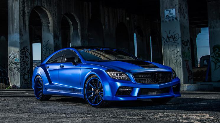 RIDES, Mercedes-Benz, CLS550
