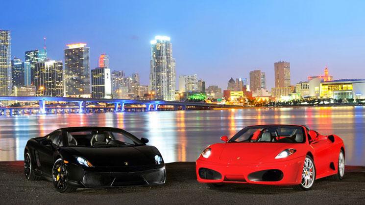 rides hertz dream cars rental