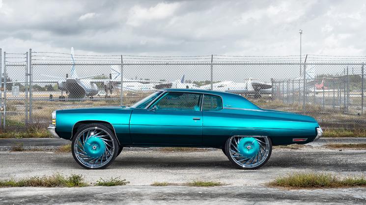 1972 Chevrolet Impala Trill Teal Rides Magazine