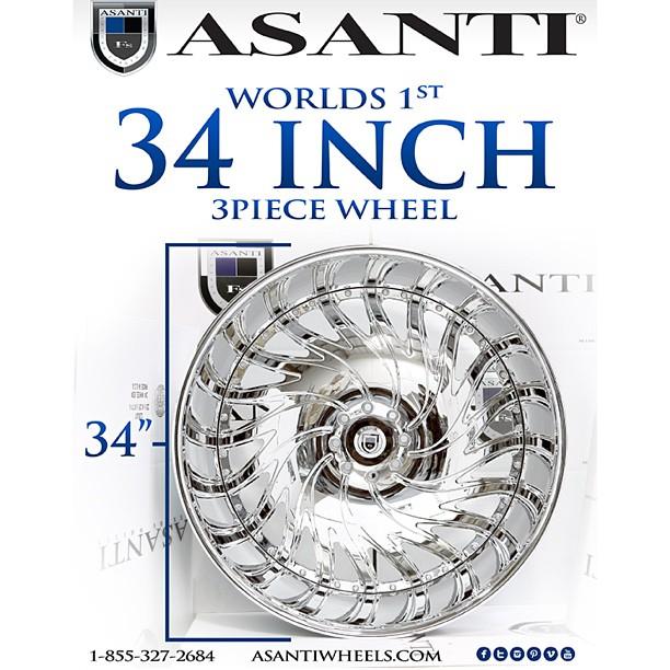 rides asanti world's first 34-inch 3-piece wheel af184 biscayne