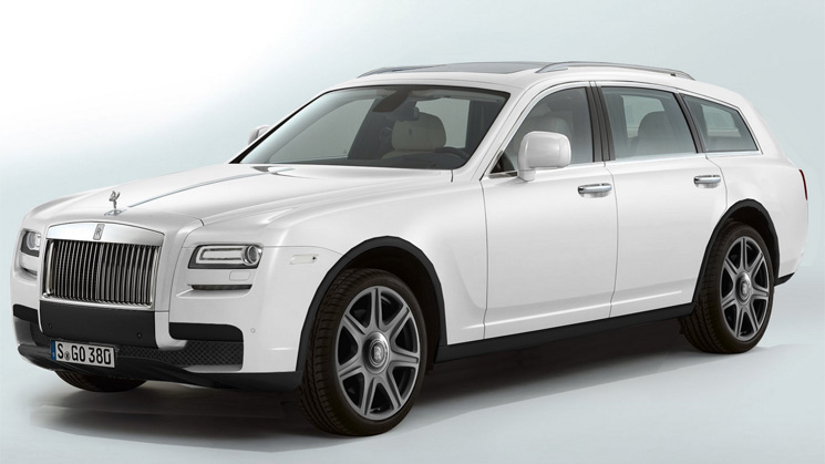 Rolls Royce May Build A Sleek Suv Or Even A Station Wagon