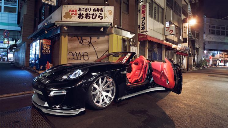 RIDES, Porsche, Panamera, Nissan, 350Z,1