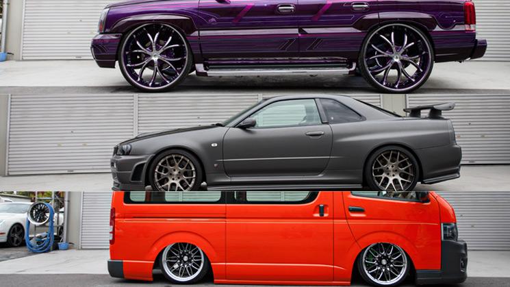 RIDES, Japan, Skyline, GT-R, Cadillac, Ecalade, Toyota