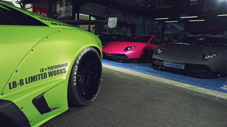RIDES, Lamborghini, Ferrari, Liberty Walk, Japan