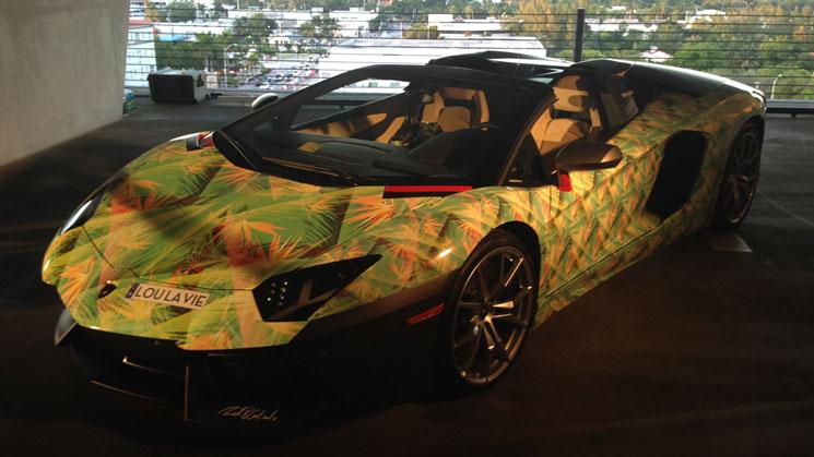 King James Gets Aventador Wrapped To Match Lebron 11 Shoe Rides Magazine