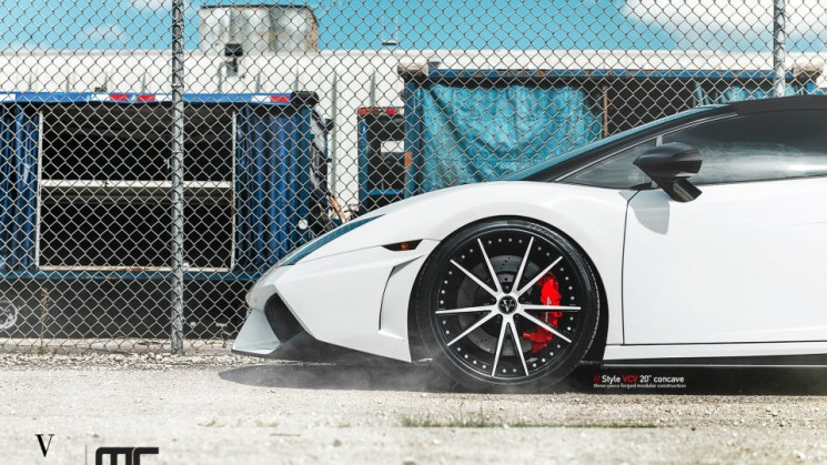 rides magazine vellano vcv 20-inch concave wheel mc customs lamborghini gallardo