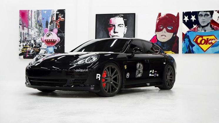 Porsche Panamera on CW-S5
