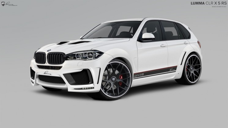 lumma design wide body kit 2014 bmw x5 luxury suv LUMMA CLR X 5 RS