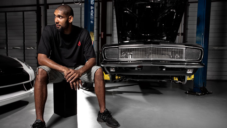 tim duncan black jack speed shop san antonio texas spurs custom car shop