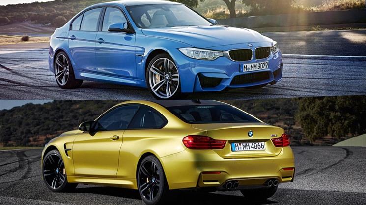 new 2014 bmw m3 sedan m4 coupe leaked photos rides magazine