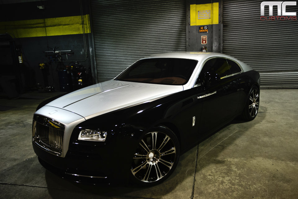 Best Off Road Tires >> Rolls Royce Wraith Lowered on 22 Inch HRE Wheels By MC ...