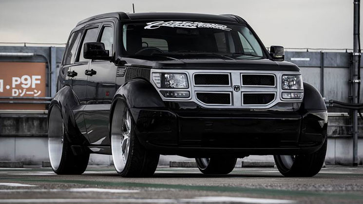 Lexani page 3 of 4 rides magazine widebody dodge nitro on lexani wheels from japan sciox Gallery