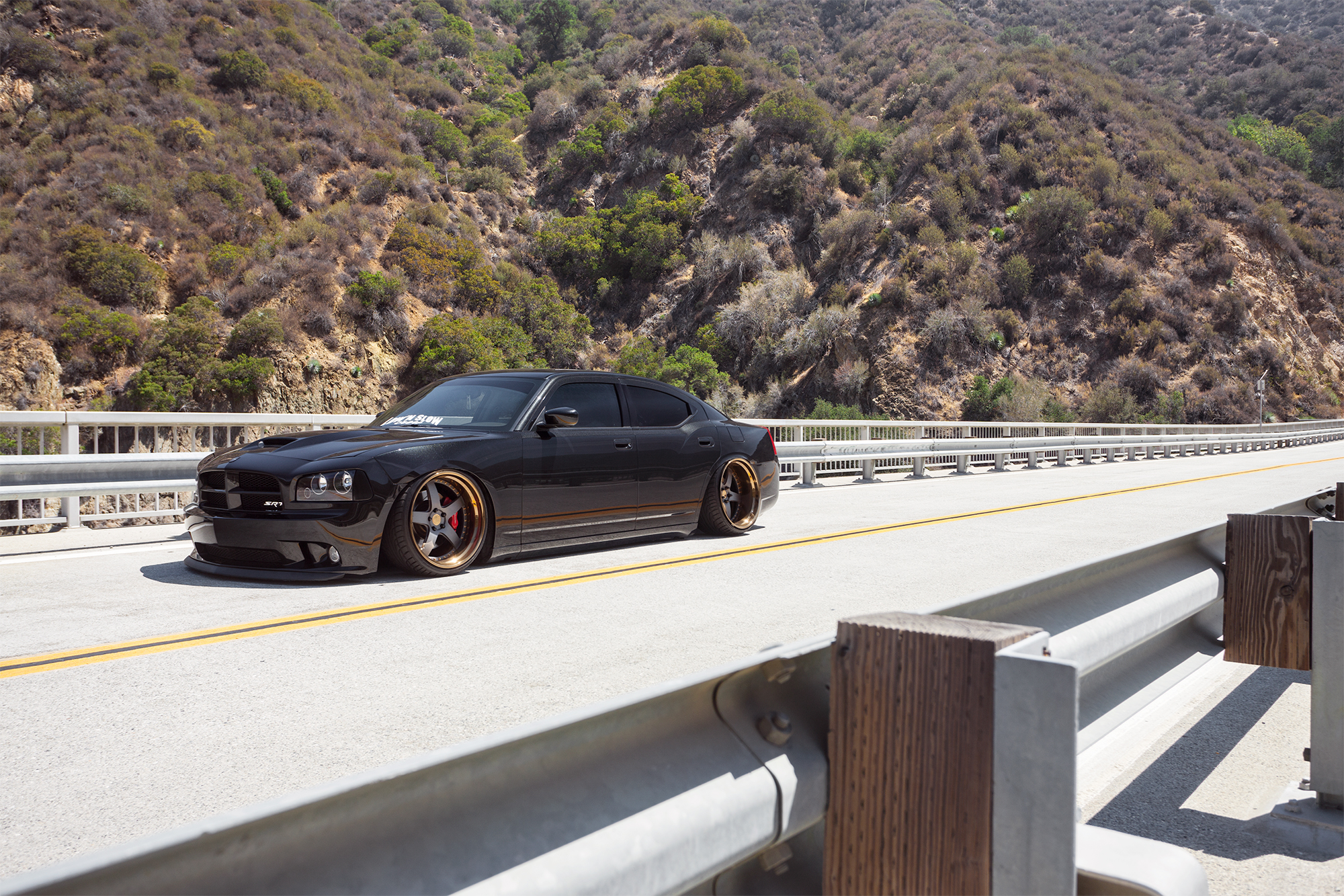Bagged Charger Srt8 Rides Magazine