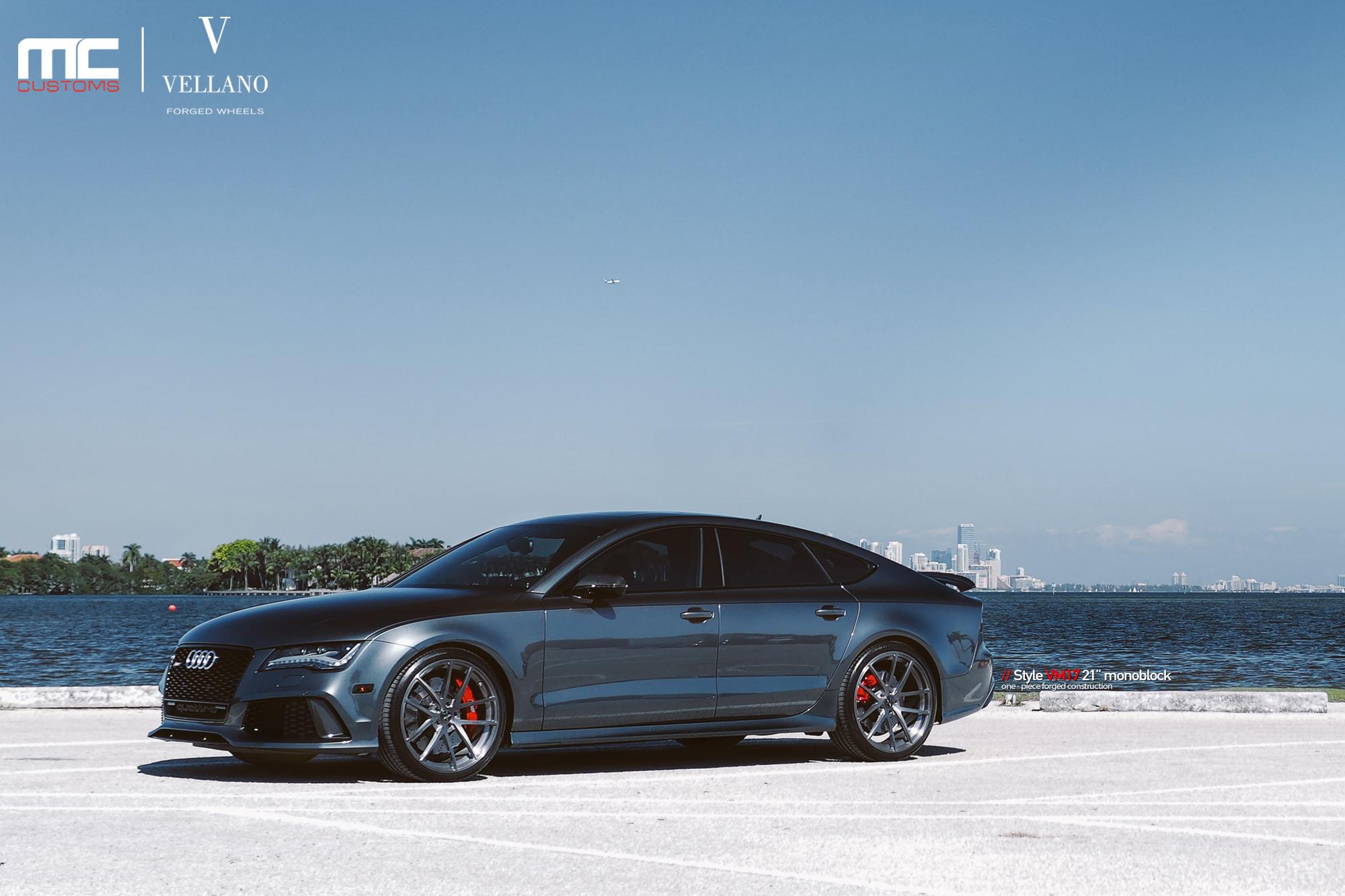 2015 Camaro Convertible >> 2014 Audi RS7 On Vellano Wheels By MC Customs - Rides Magazine