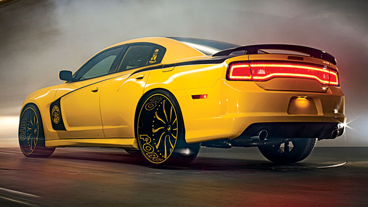 rides magazine topo ts designs wide body 2012 dodge charger srt8 super bee