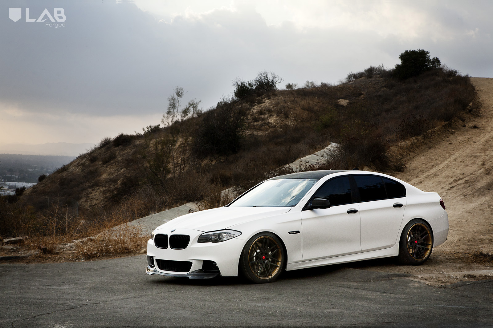 Bmw 535i On Lab Forged Wheels Rides Magazine