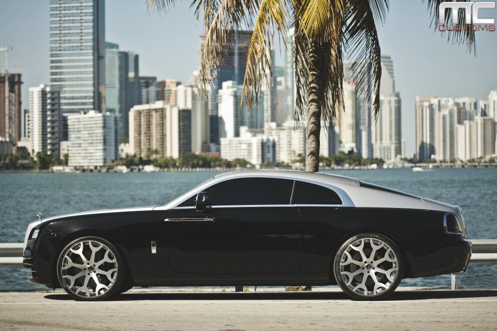 Rolls Royce Wraith On 24 Inch Forgiatos By Mc Customs