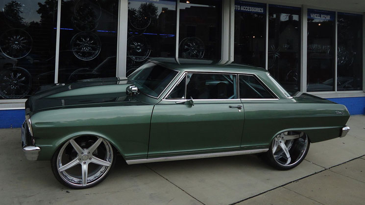 Tubbed 1963 Chevrolet Nova On Forgiato Wheels