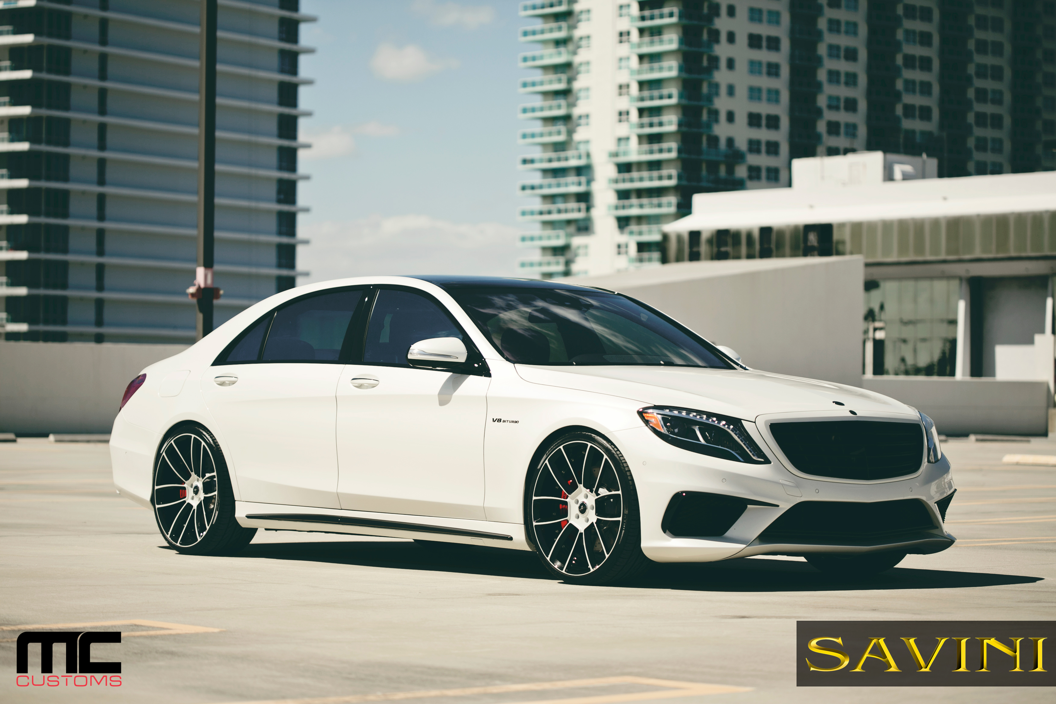 West Coast Customs Cars For Sale >> 2014 Mercedes Benz S63 AMG On 22-Inch Savini Wheels ...