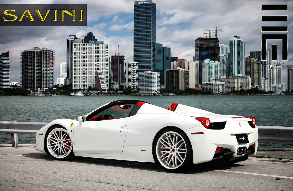 Ferrari 458 Spider On Savini Wheels Rides Magazine