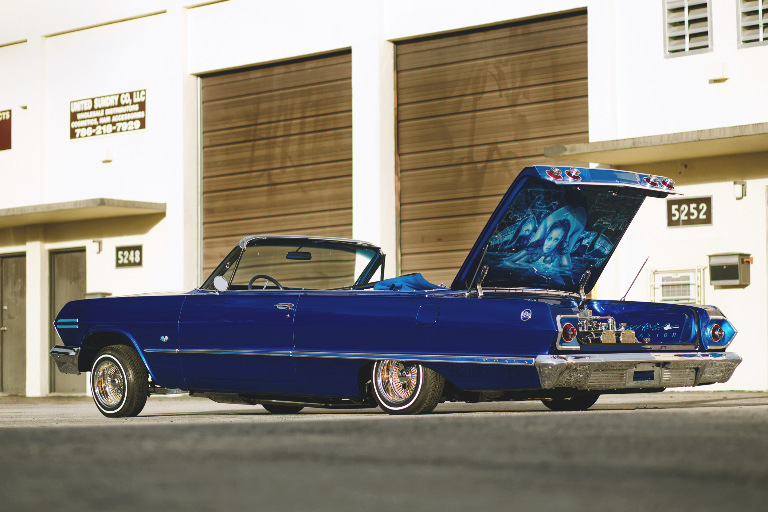 Lowrider Rims And Tires >> 1963 Chevrolet Impala SS w/ Video - Rides Magazine