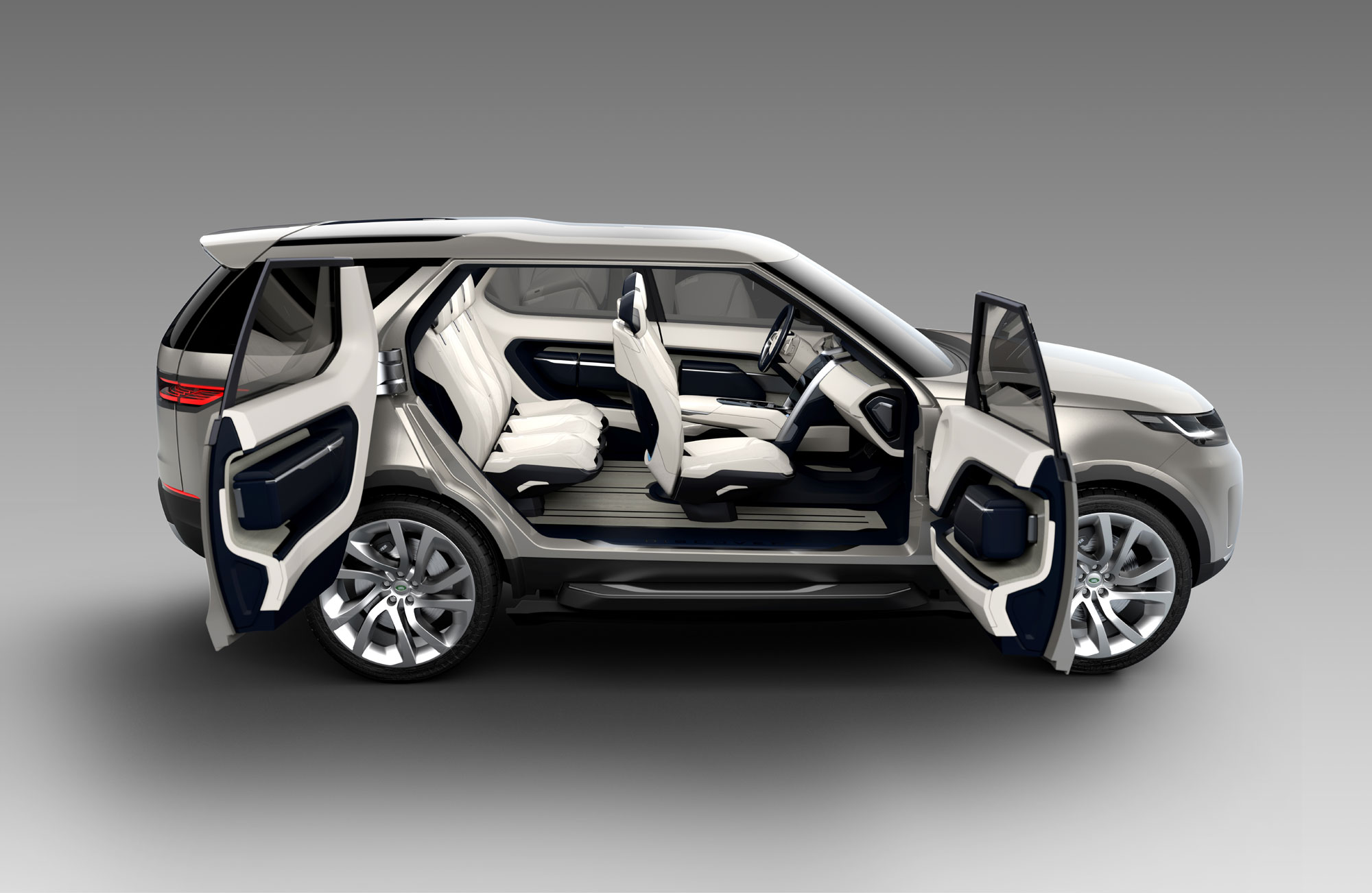 The Land Rover Discovery Vision Concept Revealed! & suicide doors - Rides Magazine